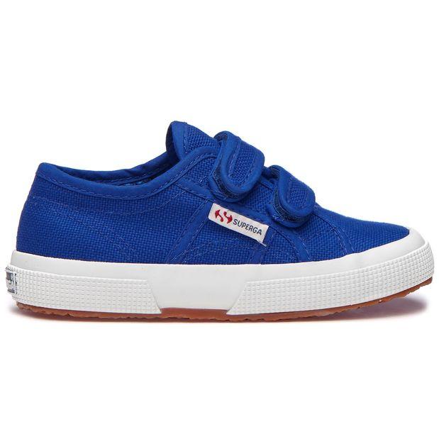 Tenis-Unisex-Niños-2750-Cotjstrap-Classic-Superga-Azul
